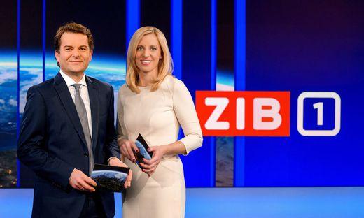?ZiB?-Teams fixiert: Nadja Bernhard und Tarek Leitner bzw. Susanne Hoeggerl und Johannes Marlovits praesentieren ?Zeit im Bild?