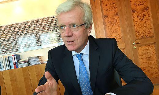 Gerhard Fabisch ist Präsident des Österreichischen Sparkassenverbandes und Vostandschef der Steiermärkischen Sparkasse