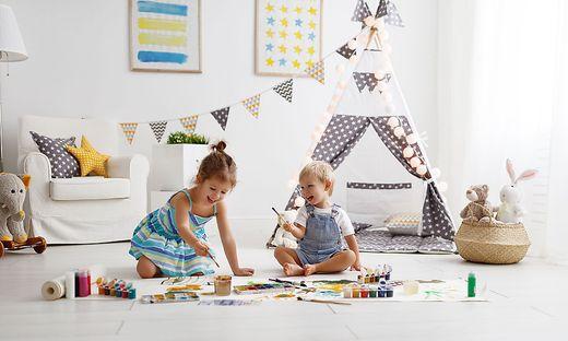 Ein Ort zum Spielen und Entspannen: ein Kinderzimmer ist für junge Menschen von zentraler Bedeutung.