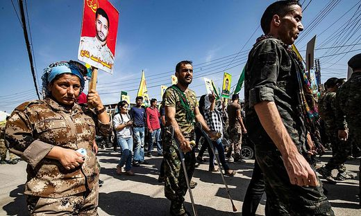 SYRIA-KURDS-CONFLICT-DEMO
