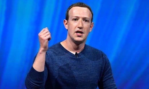 Facebook-Boss Mark Zuckerberg