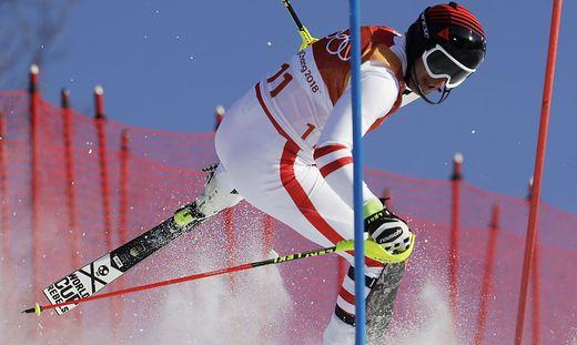 Mayer schied im Kombi-Slalom aus