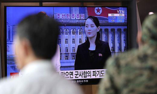Kim Jong-un einflussreiche Schwester Kim Yo-jong