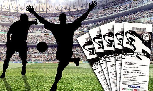 Mitspielen und Karten für die Heimspiele gewinnen!