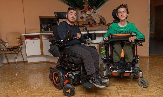 E-Rollstuhlfahrer