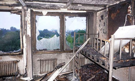 Elf Verletzte nach Brand in Flüchtlingsheim in Ratingen