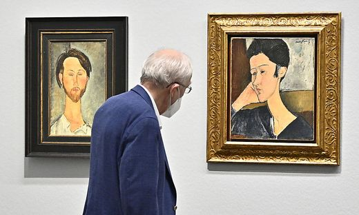 """Modigliani. Revolution des Primitivismus"" in der Albertina"