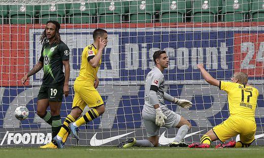 Dortmund siegte in Wolfsburg