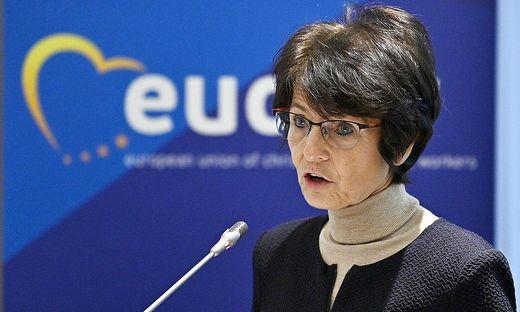 Sozialmkommissarin Marianne Thyssen
