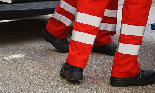 Der Verletzte wurde von der Rettung ins LKH Wolfsberg eingeliefert