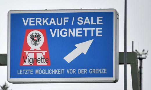 Auf Österreichs Autobahnen herrscht Vignettenpflicht