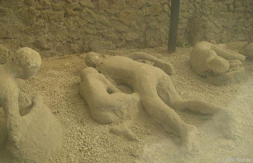 Die Stadt Pompeji wurde wahrscheinlich später zerstört als bisher angenommen