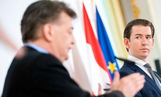 Kanzler Sebastian Kurz und Vizekanzler Werner Kogler: Der Schulterschluss zwischen ÖVP und Grünen stabilisiert das Land