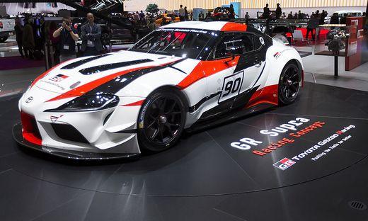 Der Toyota aus Graz: Das Racing Concept GR Supra gibt einen Ausblick auf das Serienmodell des Kultsportwagens