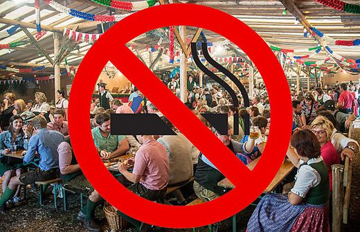 """Ein generelles Rauchverbot und die Allergenverordnung könnten das """"Aus"""" für Zeltfeste bedeuten"""