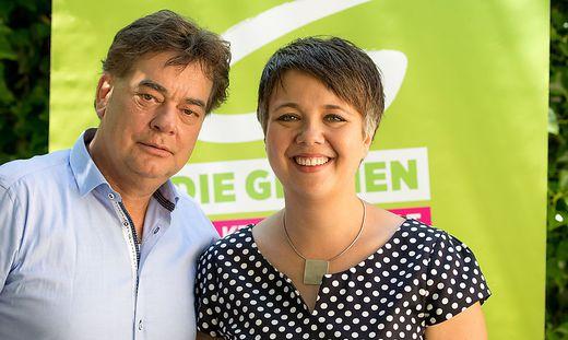 Werner Kogler, Olga Voglauer: Die Grünen profitieren von den Wahlkarten