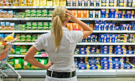 Nahrungsmittel und alkoholfreie Getränke verteuerten sich um 2,9 Prozent