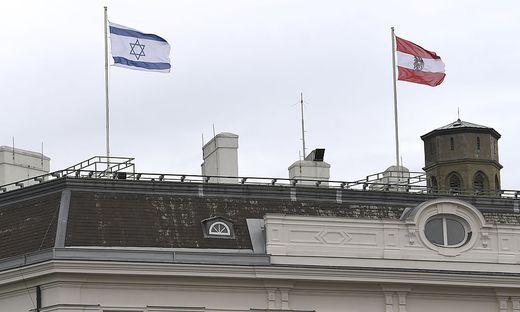Erdogan reagierte auf das Hissen der israelischen Flagge auf dem Bundeskanzleramt und dem Außenministerium in Wien