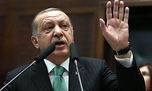 Recep Tayyip Erdogan droht