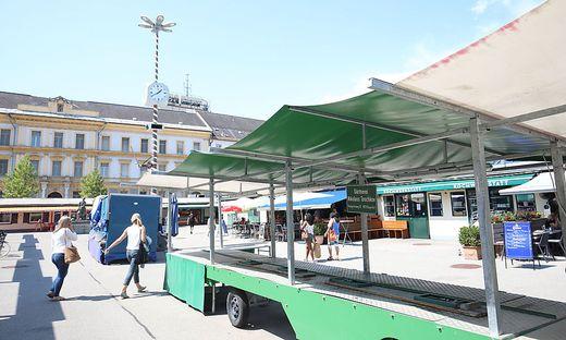 Der Benediktinermarkt ist für  die Gärtnerei Toschkov Geschichte. 2022 erfolgt Neustart am Viktringer Wochenmarkt.