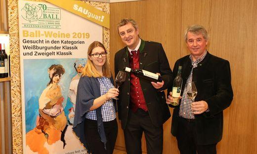 Ballweinverkostung Steirischer Bauernbundball 2019