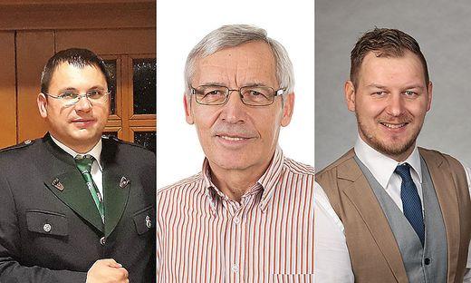 Karl Habisch, Werner Loinig und Rene Zirngast sind die Spitzenkandidaten in Arnfels