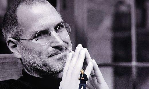 Tim Cook, Steve Jobs
