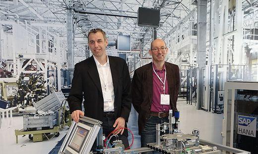Martin Tschandl (l.) setzt mit seinem Department für Management weiterhin auf die Digitalisierung