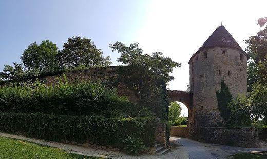 Die Stadtmauern von Hartberg zierten 1606 die Köpfe der gefallenen Haiduken