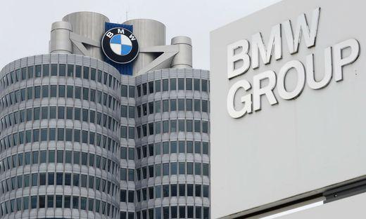 Die BMW-Zentrale in München