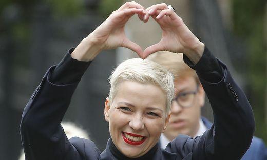 Die weißrussische Oppositionelle Maria Kolesnikowa