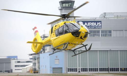 �AMTC: �BERGABE EINES AIRBUS-H135-HELIKOPTERS AN FLUGRETTUNG