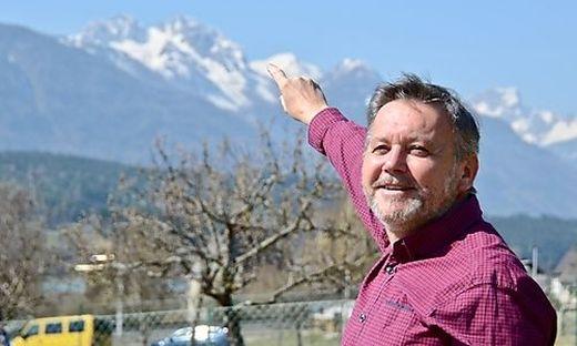 Andreas Schuller konnte den Meteor über dem Gartnerkofel sehen