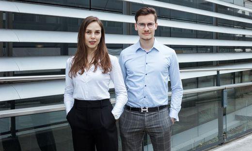 Sorgen für Verkehrssicherheit: die Flasher-Gründer Ines Wöckl und Alexander Rech