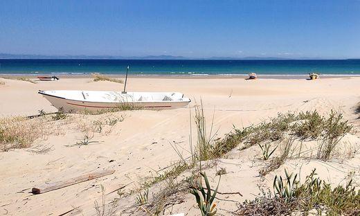 Die sandigen Strände der Costa de la Luz verlocken zum Baden, zu langen Wanderungen oder zum Kitesurfen
