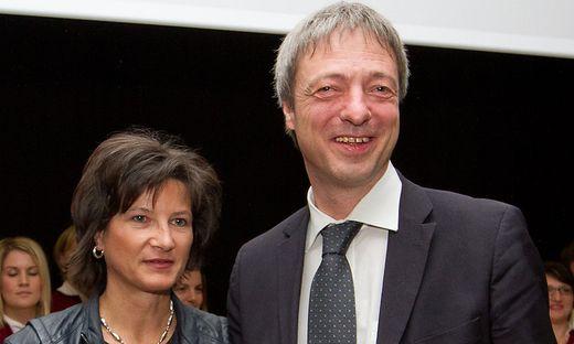 """Sonja Kert-Wakounig und Rudi Vouk von """"SKUP"""""""