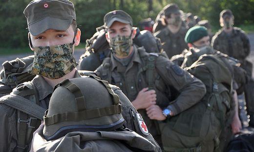 Milizsoldaten