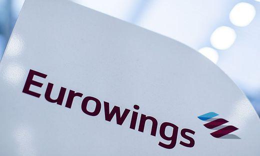 Warnstreik bei Eurowings in Duesseldorf
