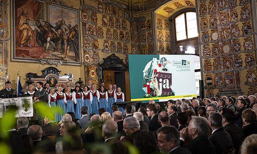 Auftaktveranstaltung CarinthiJa 2020 Wappensaal Maerz 2020