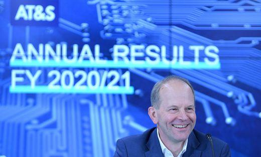 AT&S-Chef Andreas Gerstenmayer