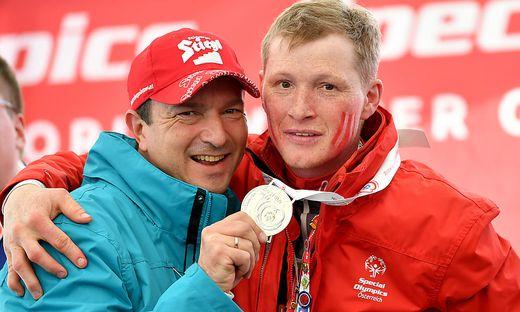 SPECIAL OLYMPICS WINTERSPIELE 2017: SCHNEESCHUHLAUFEN/ STADELWIESER (AUT) , POINTNER (AUT)