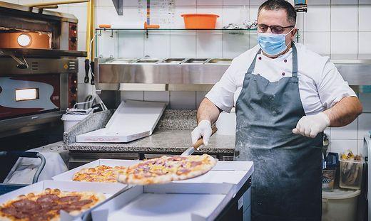 Schon im ersten Lockdown im März stellten viele Restaurants auf Lieferservice um
