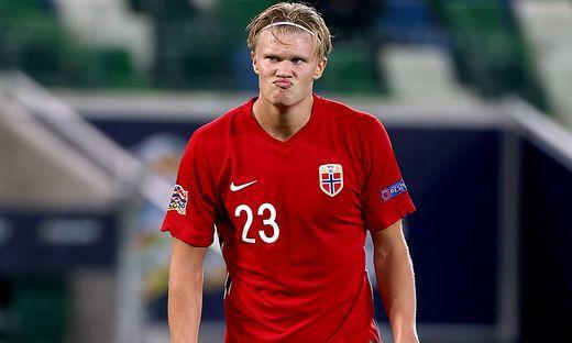 Die Norweger mit Erling Haaland durften nicht nach Rumänien reisen.
