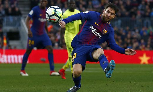 Messi ist der Barca-Dauerbrenner