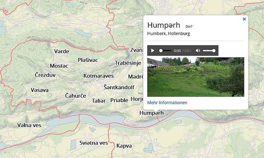 Die neue, interaktive Karte mit Flur- und Hofnamen in Südkärnten und Oberkrain/Zgornja Gorenjska von FLU-LED. Mit einem Klick auf den jeweiligen Namen erhält man zum Teil Audios, Fotos und weitere Informationen