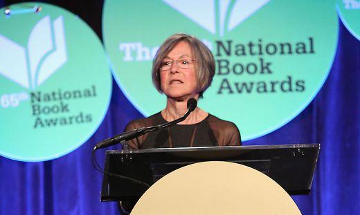 Nobelpreisträgerin Louise Glück.