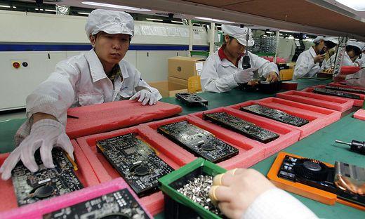 Von Elektronik über Autos bis zu Kleidung: China ist die Werkbank der Welt