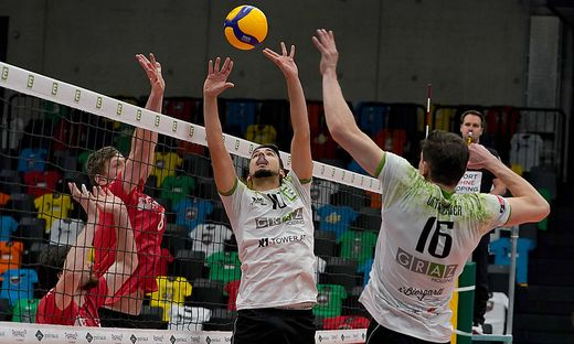 VOLLEYBALL - AVL, Graz vs Waldviertel
