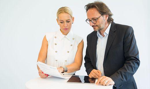 Katja Porsch und Peter Brandl