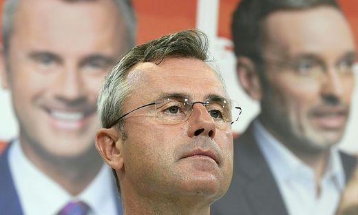 FP-Kandidat Norber Hofer